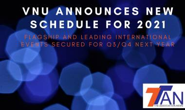 VNU ANNOUNCES NEW SCHEDULE FOR 2021